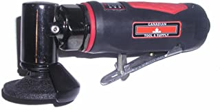 Canadian Tool and Supply 2-Inch Mini Air Angle Grinder with Swivel Guard (PAG-2-G)