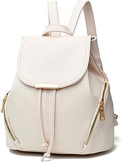 San Francisco 6a6cc 12a4f Amazon.fr : sac a dos femme vintage - Blanc