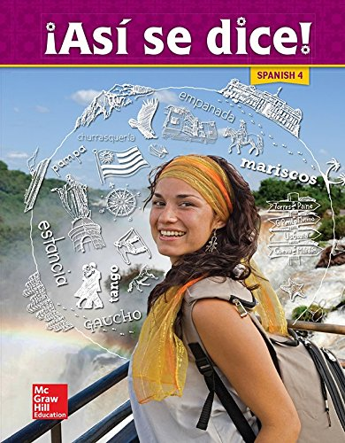 Asi se dice! Level 4, Student Edition (SPANISH)