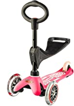 Mini 3in1 Deluxe 3-Stage Ride-on Micro Scooter Toddler Toys for Ages 12 Months to 5 Years