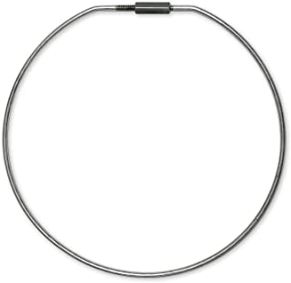 Lucky Line 8 Inch Diameter Threaded Locking Key Ring, 1 Pack (7981)