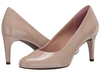 Rockport Total Motion Arabella Pump (Neutral Beige Patent) Women