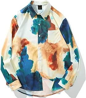 シャツ 柄 長袖 メンズ ファッション 人気 ワイシャツ 柄物 総柄 快適な 柔らかい 軽い ヒップシャツ 花柄 吸汗速乾 カジュアル ラペル 通勤 通学シャツ 和柄 春 夏 秋 冬