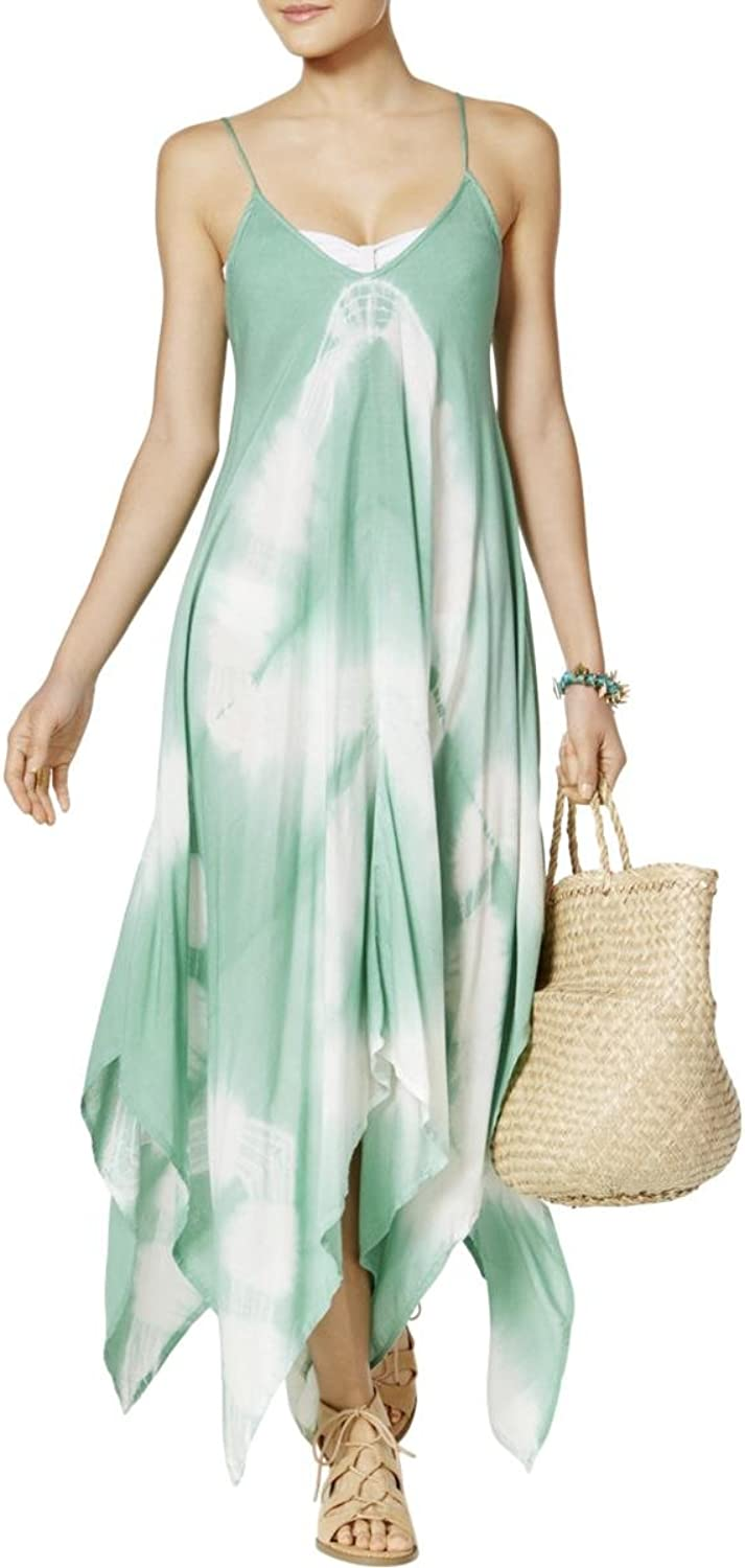 410bdd8a5066e Raviya Maxi Dress Swim Coverup Green S TieDye Womens ntwegn4435-New ...