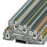 Phoenix PTI 2,5-PE/L/N Gris - Electrical terminal block (5,2 mm, 101 mm, 48,6 mm, 400 V)