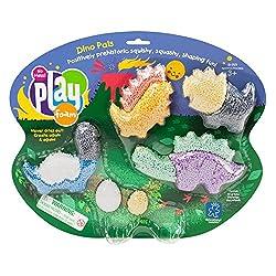 dinosaur sensory play for kids