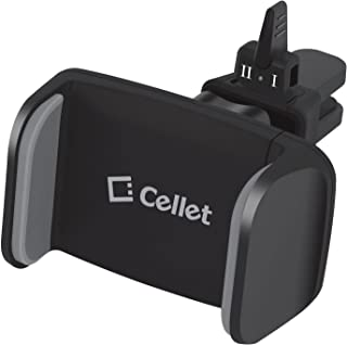 Cellet Air Vent Car Mount Compatible for iPhone Xs/Xr/Xs Max/X/8/7/65/ Samsung Note 9/8/5/5 Galaxy S9/S9 Plus/S9/S8/Plus/S7/S6 LG Q7+/Stylo 4/Q Stylus/V35 ThinQ/V30/G6/G5/ and more