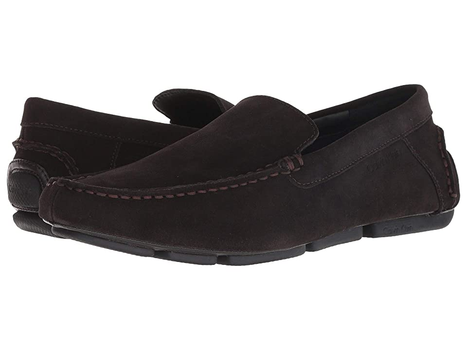 Calvin Klein Miguel (Dark Brown Calf Suede) Men