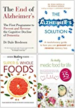 End of Alzheimers, Alzheimers Solution, Hidden Healing Powers, Healthy Medic Food for Life 4 Books Collection Set