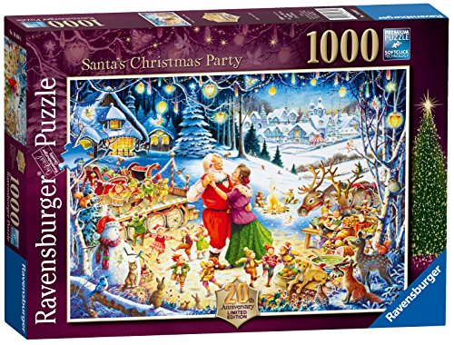 Ravensburger Santa 's Christmas Party, Spielset 2016Limitierte Ausgabe, Puzzle, 1000Einzelteile