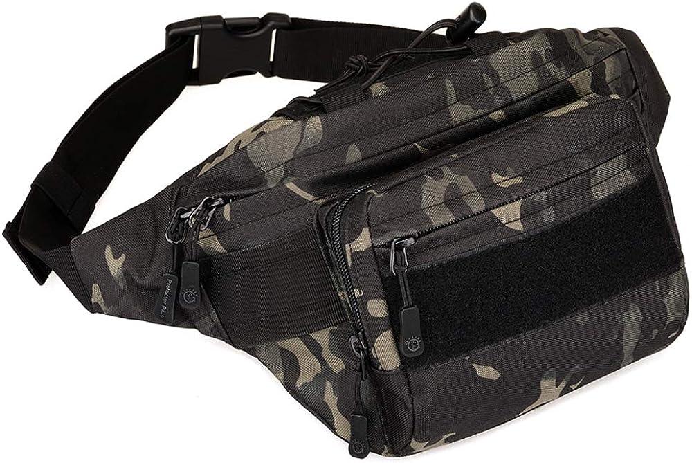 CREATOR Tactical Fanny Pack for Men Outdoor Waist Hip Regular store Bag H Belt [Alternative dealer]