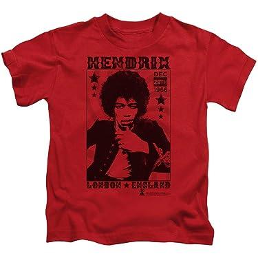 Jimi Hendrix London 1966 Unisex Youth Juvenile T-Shirt for Girls and Boys