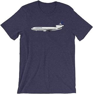 Continental Airlines Mcdonnell Douglas DC-10 Unisex T-Shirt