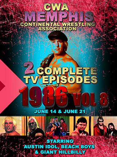 CWA Memphis Wrestling 2 Complete TV Episodes 1986 Vol 8