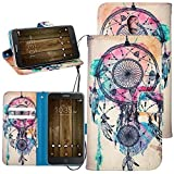 Dooki, Alcatel Pop 4 Plus Case, Wallet Stand PU Leather