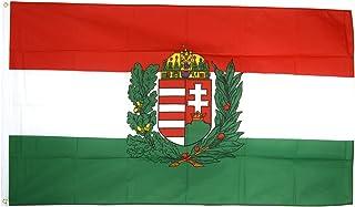 XXL vlag vlag Groot-Brittannië met wapen 150 x 250 cm