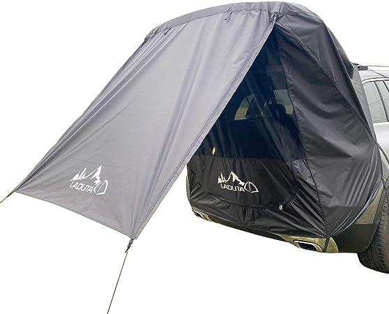 Rubyu 123 Vorzelte Für Wohnwagen Heckzelt Wasserdich Oxford Stoff Camping Vorzelte Autokonto Zelte Heckklappe Vordach Anti Uv Für Camping Und Familie Sommercamping Sport Freizeit