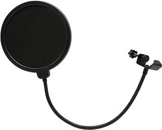 【CONYCONY】ポップガード ポップブロッカー コンデンサーマイク マイクスタンド YouTube AT2020 二重張り ノイズ防止 ネット直径15.5cm