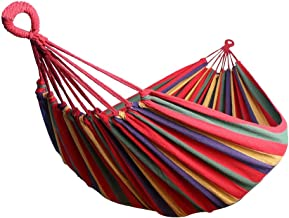 Max 330 lbs Extra Long Double Camping Hammock with Tree Straps,78.7
