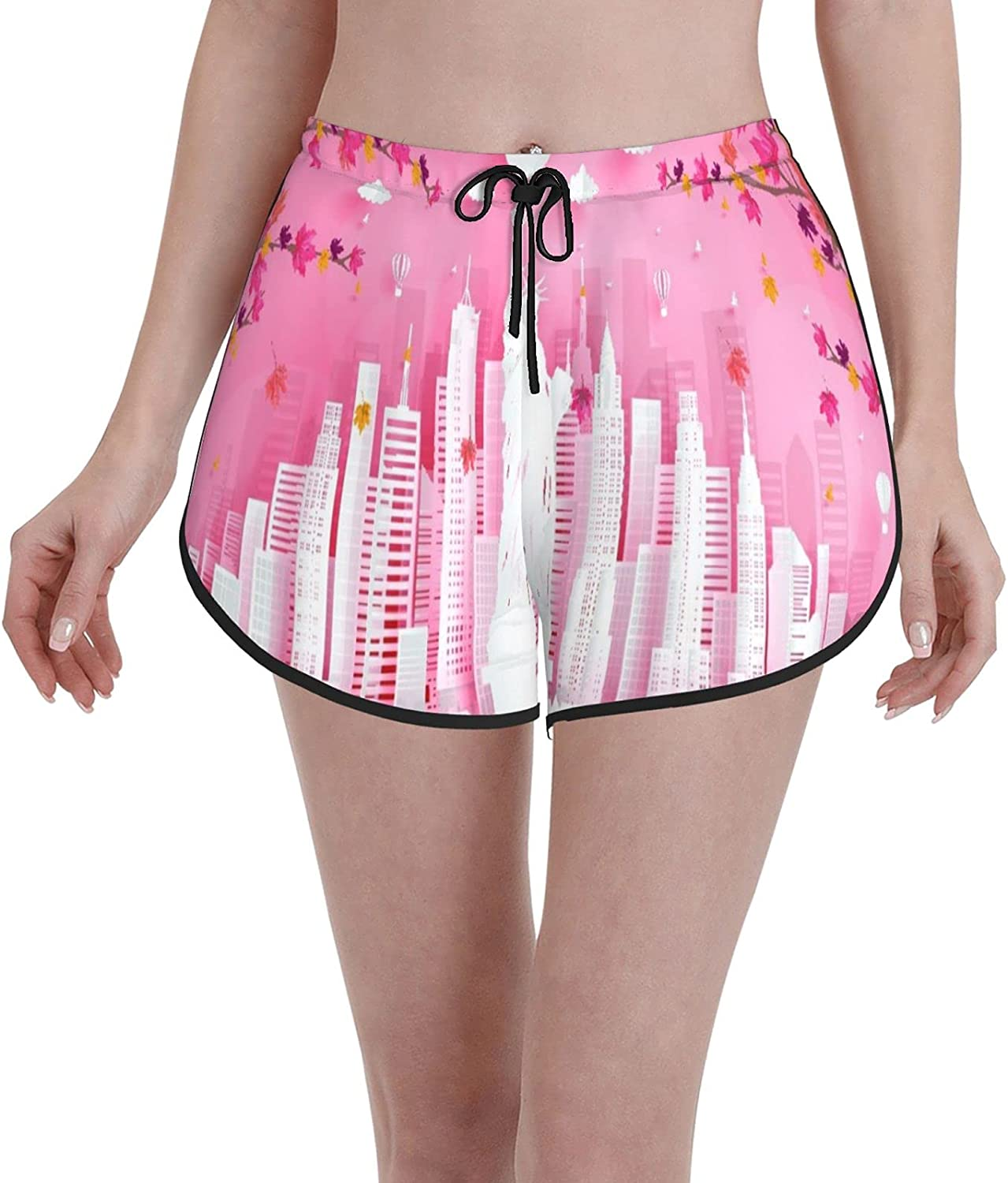 Janrely Casual Board Shorts for Mail order Women Trunks Girls We All stores are sold Beach Swim