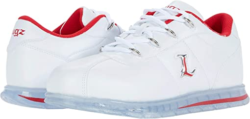 White/Mars Red/Clear