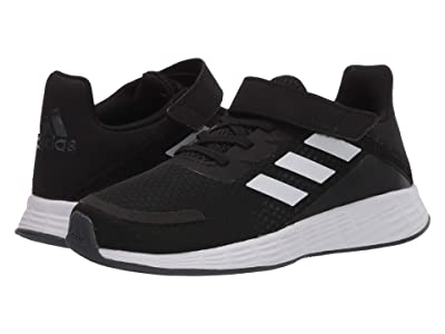 adidas Kids Duramo SL (Little Kid) (Core Black/Footwear White/Grey Six) Boys Shoes