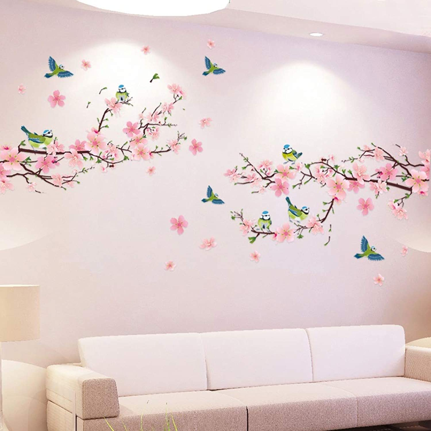 WF Living Room Decoration TV Background Wall Stickers selfAdhesive Wall Stickers