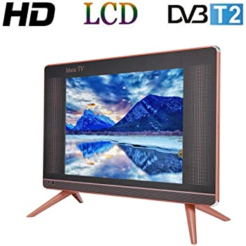 Tosuny 17 Pulgadas Televisor LCD HD DVB-T2, Resolución 1366x768 TV ...
