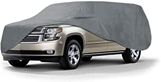 Coverking UVCSUV5I98 Universal Fit Car Cover for Extra Large SUV (Suburban, Excursion) - Triguard Light Weather Outdoor (Gray)