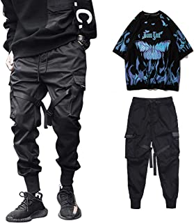 Aelfric Eden Hip Hop Streetwear Suit Men's Joggers Pants and Short Sleeve Summer Shirts