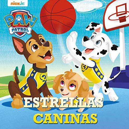 Diseño de la portada del título ¡Estrellas Caninas!