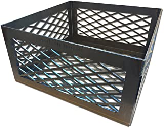 expanded metal charcoal basket