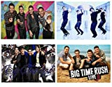 Juego de 4 manteles individuales Big Time Rush