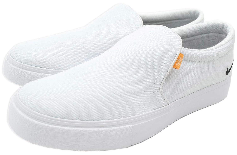 [ナイキ] スニーカー ユニセックス コート ロイヤル AC SLP White/Black/Gum Light Brown