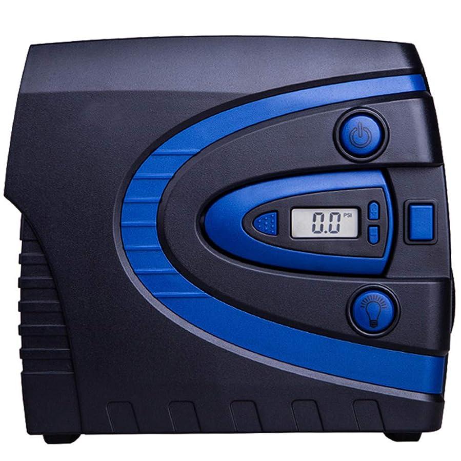 ワーム女性リダクターQXKMZ エアコンプレッサー自動デジタルタイヤインフレータ自動タイヤポンプ電動自動ポンプ付きデジタルLCD収納が簡単