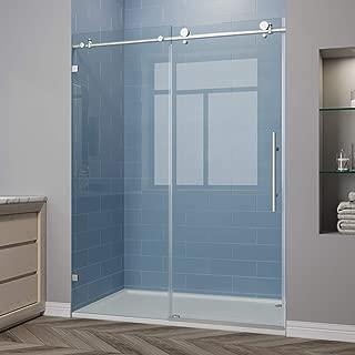 frameless sliding bathtub shower doors
