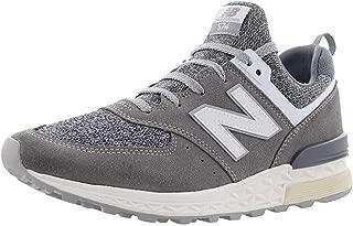 New Men's Balance 574 Sport Grey/White Ms574bg