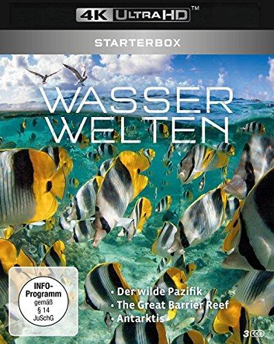 UHD Starterbox: Wasserwelten 4K (3 x Ultra HD Blu-ray Box)
