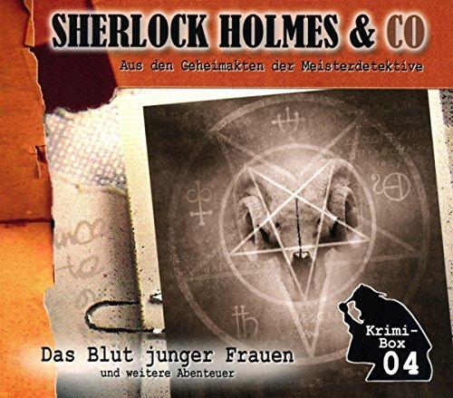 Sherlock Holmes & Co-die Krimi Box 4 (3 Cds)