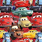 Loopomio Jersey Stoffe Disney Cars Autos 0,50m x VB