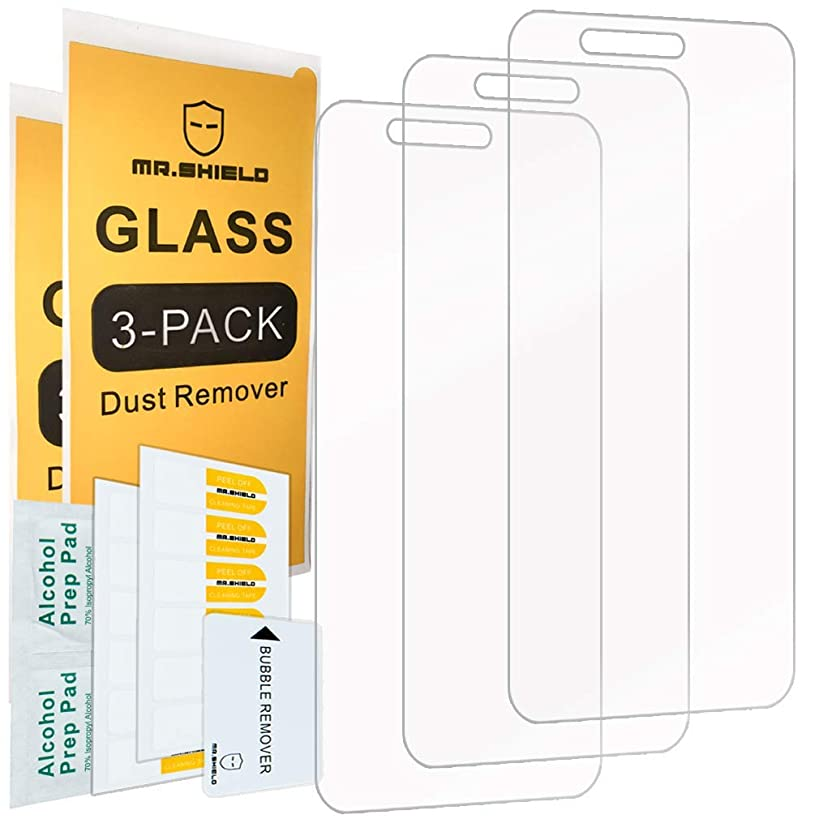 [3-Pack]-Mr.Shield for Cricket Vision [Tempered Glass] Screen Protector [Japan Glass with 9H Hardness] with Lifetime Replacement