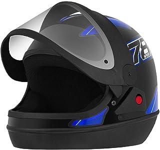 Capacete New Sport Preto/Azul Tamanho 56 CAP-741PTAZ Pro Tork