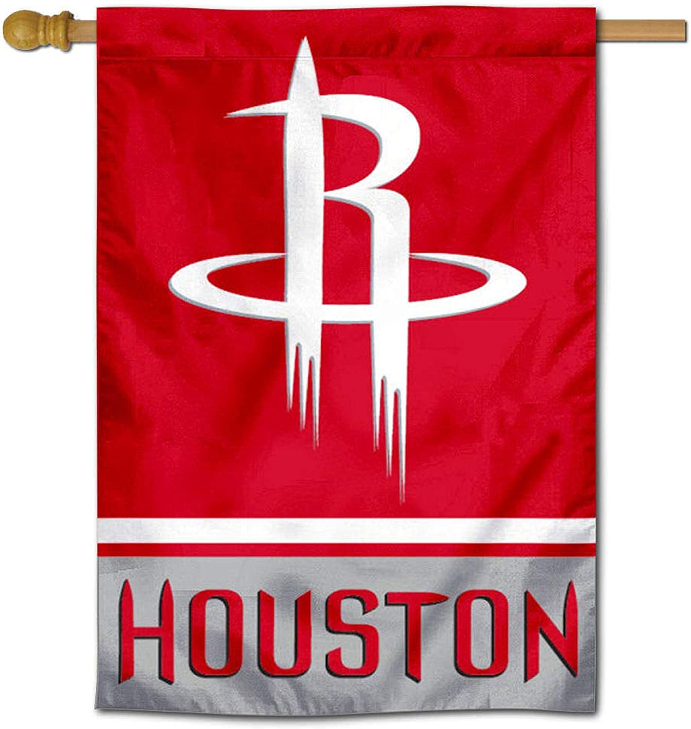 Houston Rockets Two Ply and Double Sided House Flag