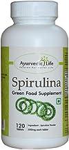 Ayurvedic Life Spirulina Tablets 500mg - 120 Tablets