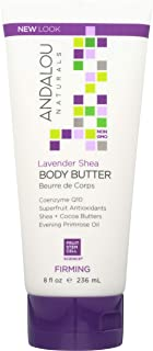 Andalou Naturals Firming Body Butter, With Lavender Shea - 8 Ounce