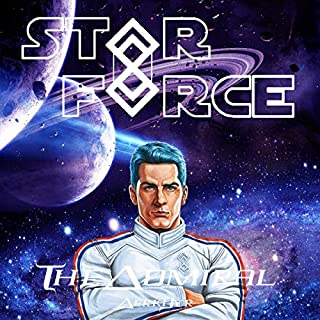 Star Force: The Admiral audiobook cover art