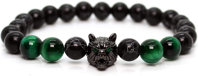 GTHT Men Bracelets Mens Special Campaign Jewellery Bracelet Me for Wolf gift