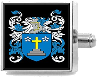 Select Gifts Nimmo Scotland Family Crest Surname Coat Of Arms Tie Clip Engraved In Pouch