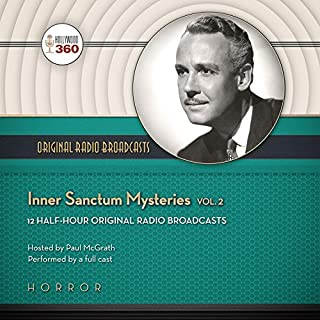 Couverture de Inner Sanctum Mysteries, Volume 2