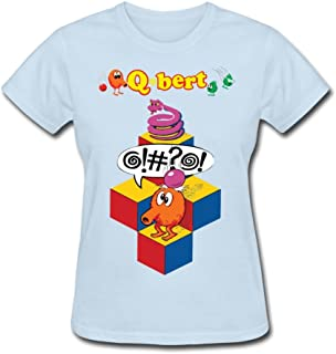 TBTJ Qbert Speech T Shirts For Women